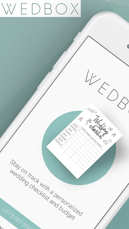 Wedding planner by Wedbox
