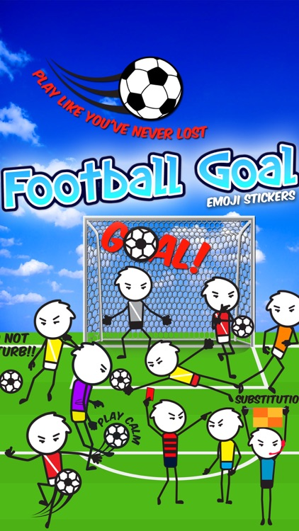 Football Goal Emoji Stickers
