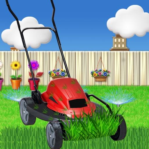 Lawn Mower Fun Learning Sim iOS App