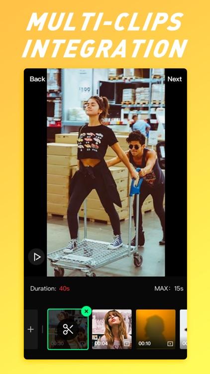 Noizz-Music Cam & Video Editor screenshot-4