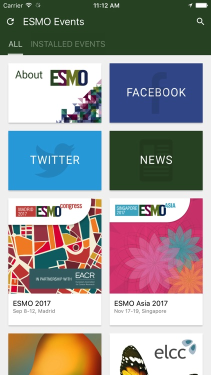 ESMO Events App screenshot-1
