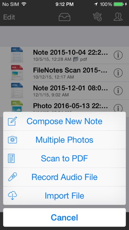 File Notes - Annotate