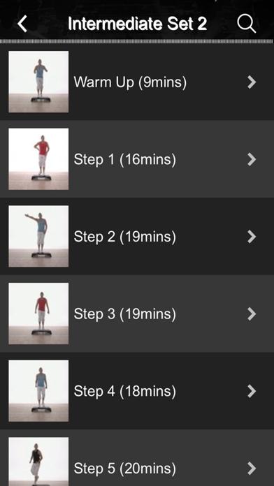 Schritt Tanz FitnessScreenshot von 2