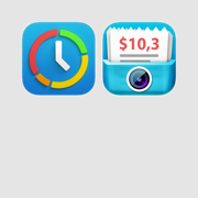 Timesheet & Receipt capture: Monitor your work hours and expenses