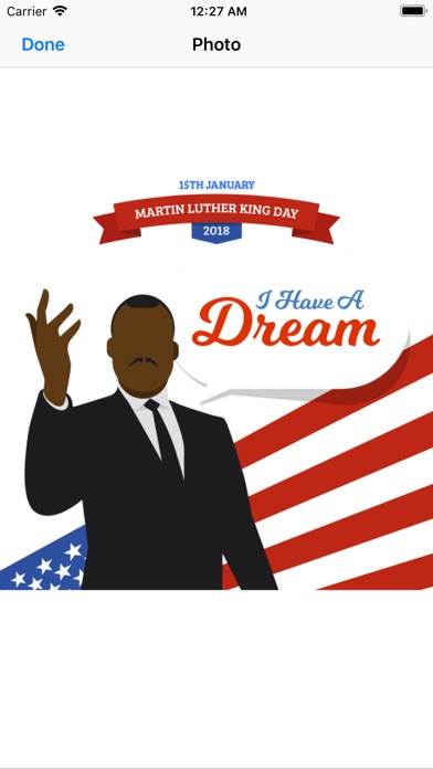 Screenshot for Martin Luther King Jr. Day in Taiwan App Store