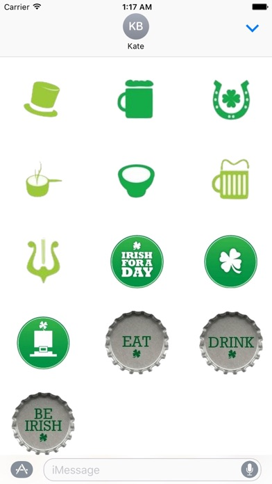 St Patricks Day Sticker Pack screenshot 2