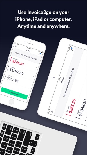Invoice Go Invoice Estimate On The App Store - Invoice and estimate software free