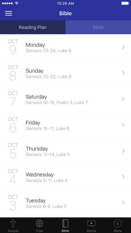 The Gospel App