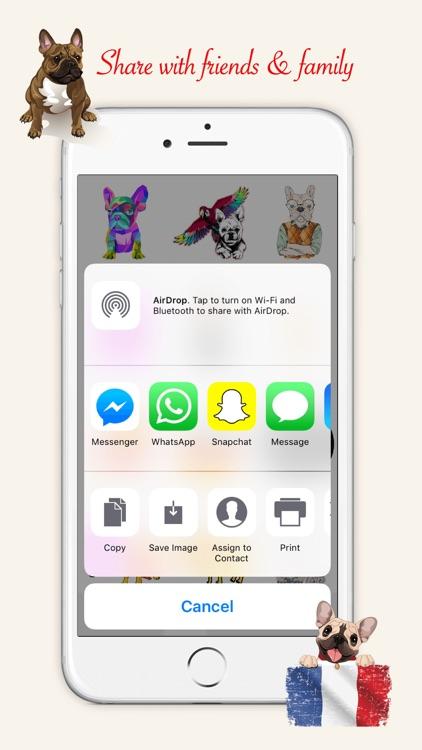 French Bulldog Emoji Stickers screenshot-3