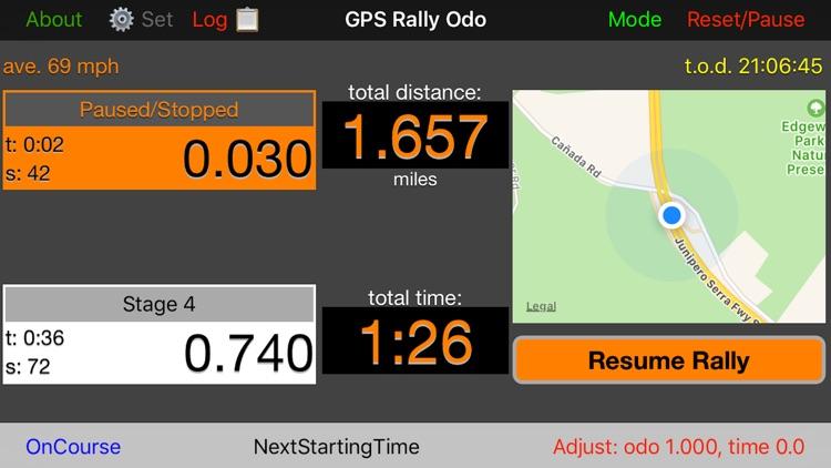 GPS Rally Odometer screenshot-4