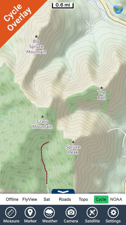 Green Mountain National Forest - GPS Map Navigator screenshot-3