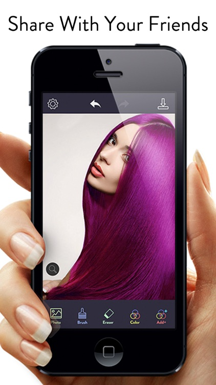 Hair Color Dye - Hairstyle DIY screenshot-4