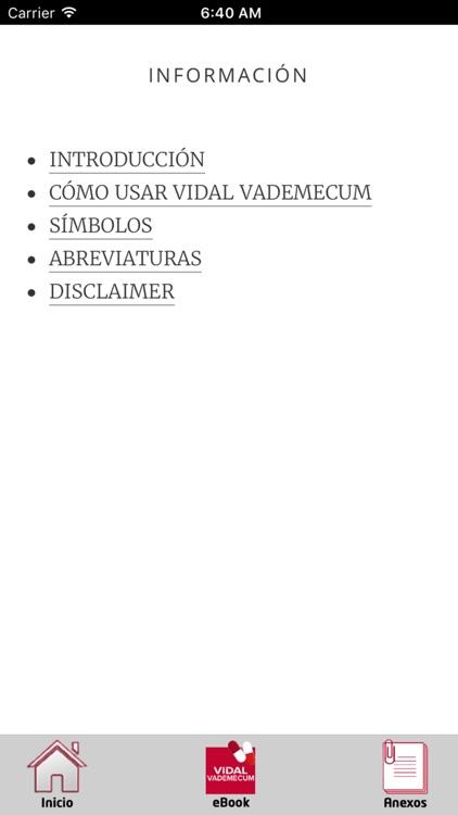 Vidal Vademecum México 2018 screenshot-4