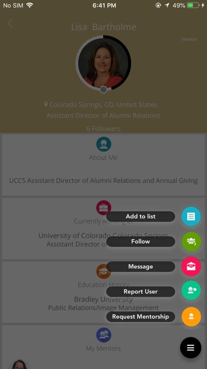 UCCS Online Mentoring Network screenshot-4