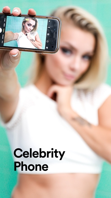 Screenshot #1 for Celeb Phone for Fake Facetime