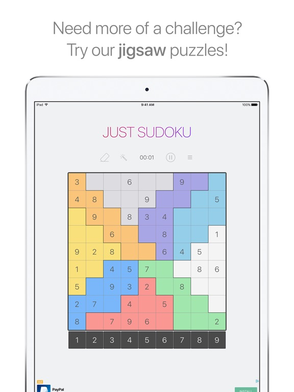 Just Sudoku: Puzzle Logic Game Скриншоты9