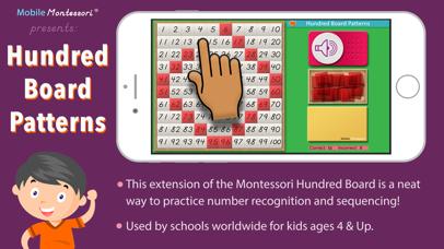 100 Board Counting Patterns screenshot 1
