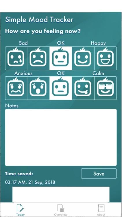 Simple Mood Tracker