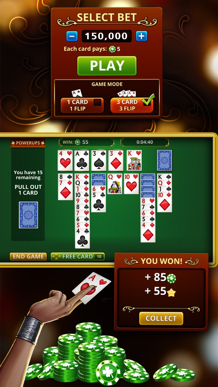 Vegas Solitaire Classic Screenshot