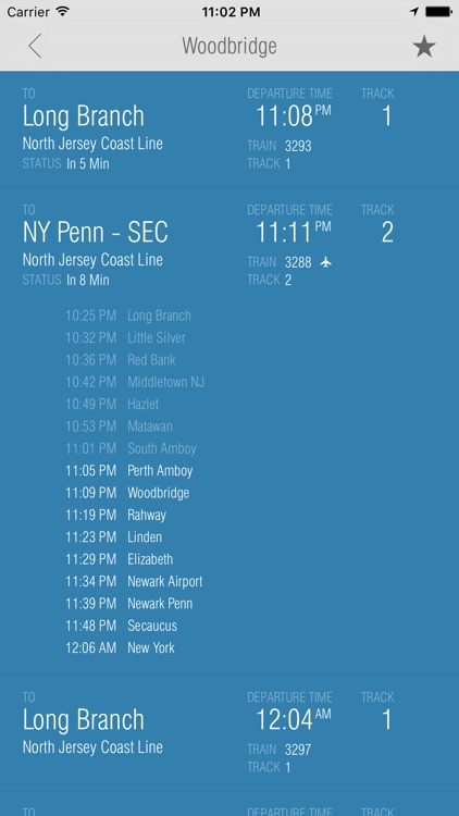 New Jersey Rail - Departures screenshot-1