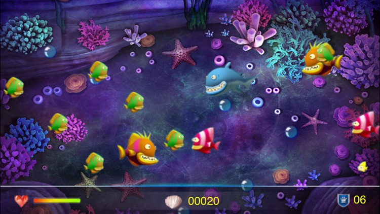 Crazy Big Fish Eat Small Fish
