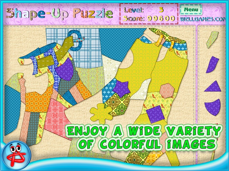 Shape Up Puzzle for Girls screenshot-3