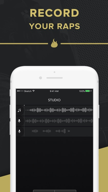 Rapchat: Rap Maker and Studio screenshot-0