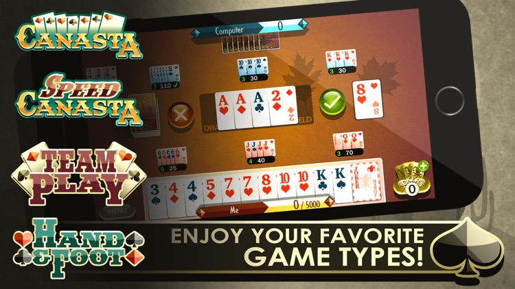Canasta Royale screenshot-1