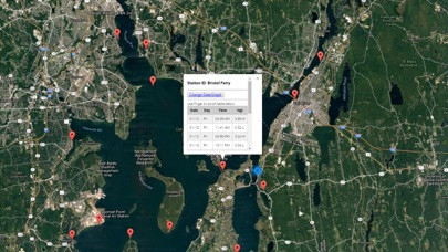 Screenshot #1 pour Rhode Island Tide Chart