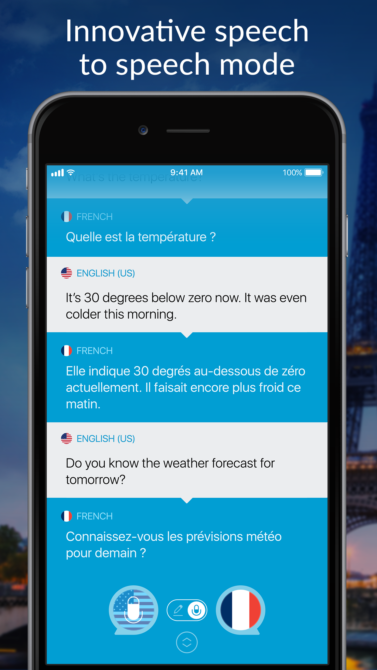 Speak & Translate - Translator Screenshot
