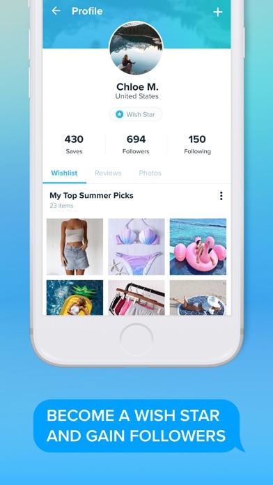 Wish - Shopping Made Fun app image