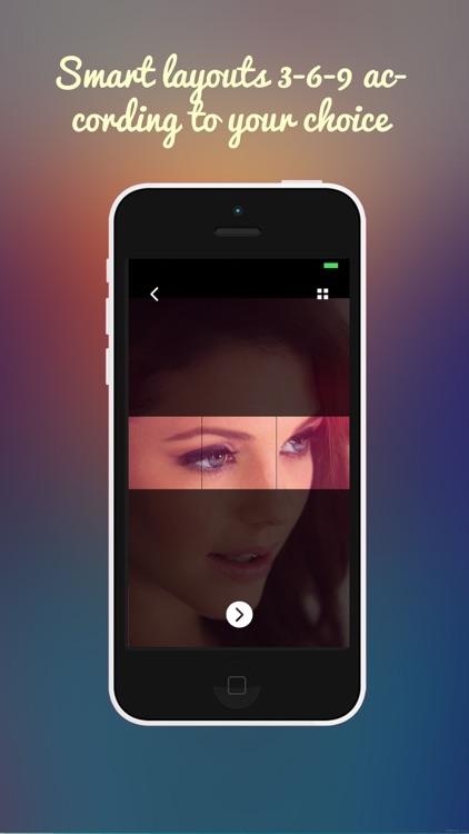 Square Grid Post Panorama Splitter screenshot-3