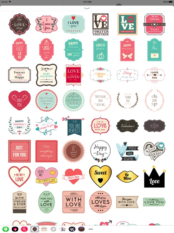 Lovely & Sweet Stickers Set screenshot 6