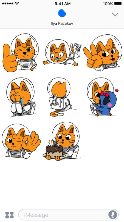 Cosmo Cat Stickers