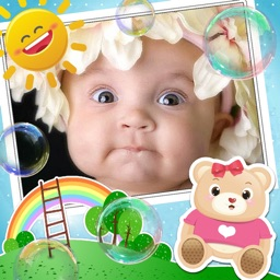 Baby Photo Frames and Stickers