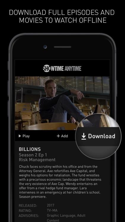 Showtime Anytime screenshot-3