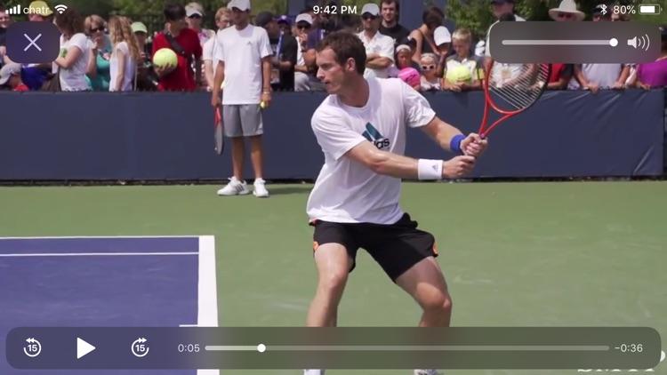 Slow Motion Tennis Pros screenshot-7