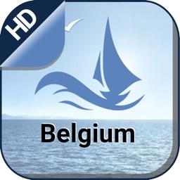 Boating Belgium Nautical Chart