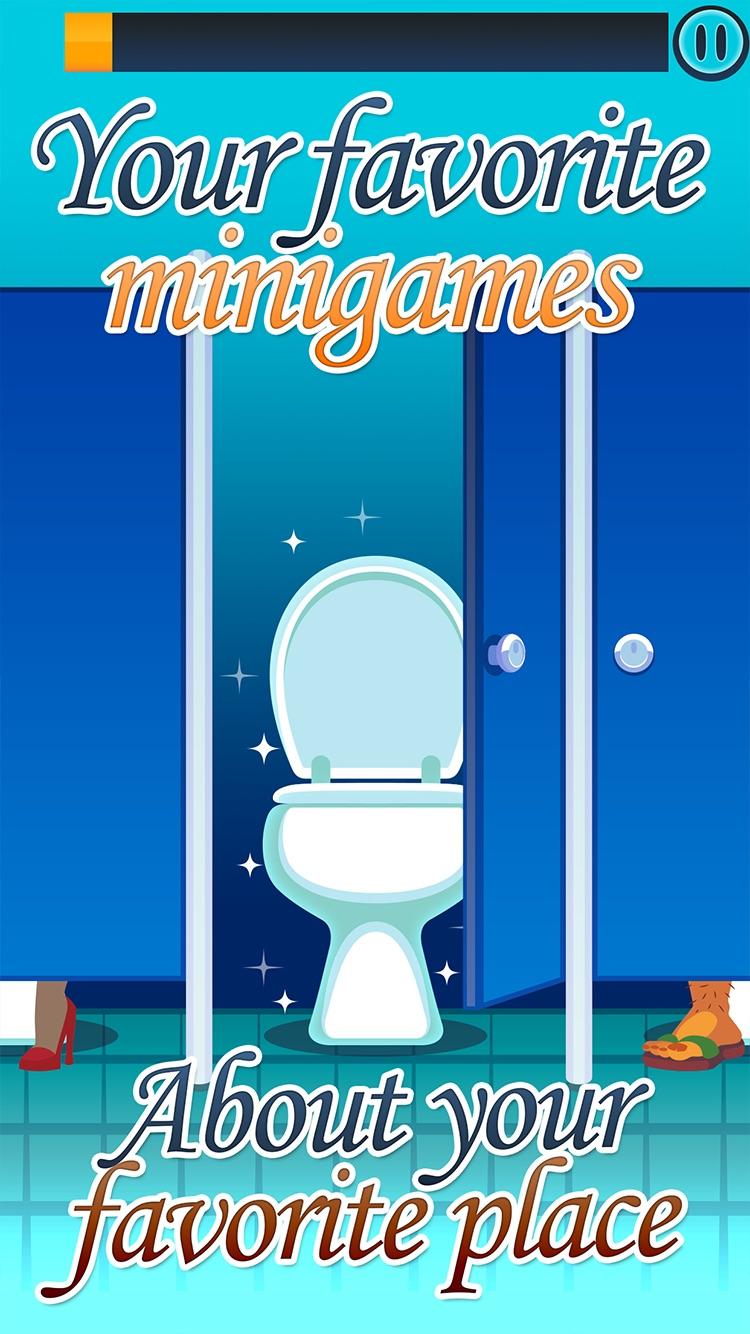 Toilet Time: Crazy Mini Games Screenshot