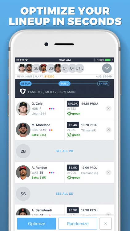 LineupHQ Express for FanDuel screenshot-4