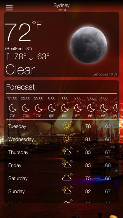Weather App 10 Days Forecast
