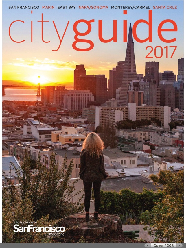 In Room Cityguide SF on the App