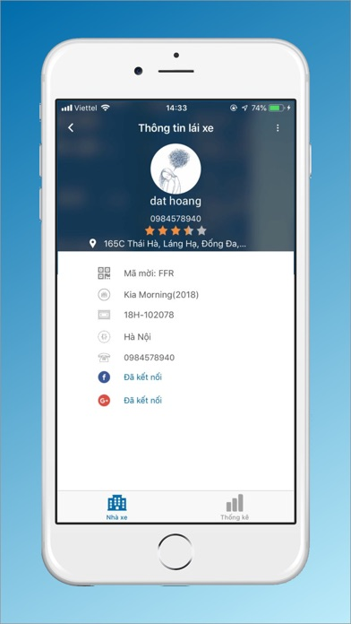 Screenshot for VIET MT - Tài Xế in Azerbaijan App Store