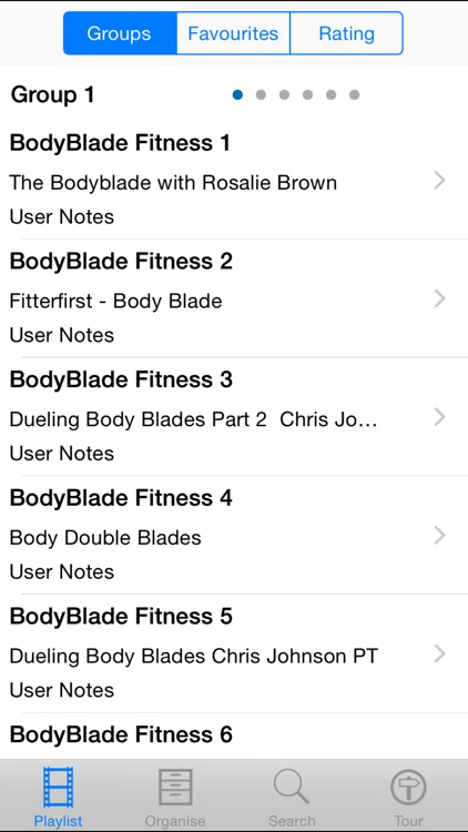 BodyBlade Fitness screenshot-1