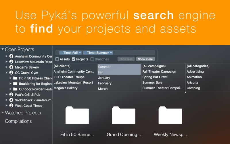 Pyká Project Manager for Mac