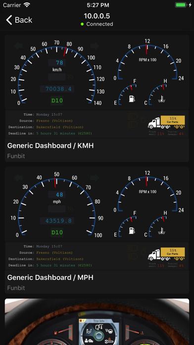 Dashboard for Truck Simulatorのおすすめ画像2