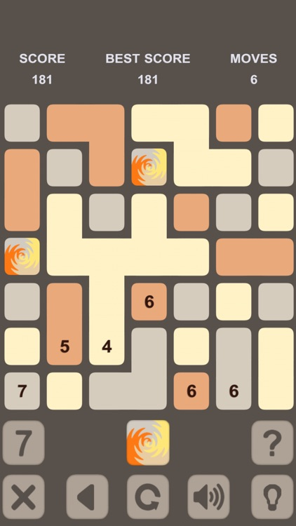 Blocks Numbers Puzzle screenshot-3