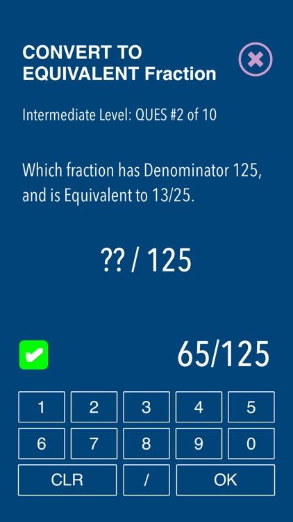 Practice Fraction puzzels screenshot-4