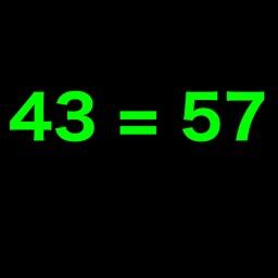 43=57 Equations