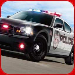 3D Police Car Parking Driver